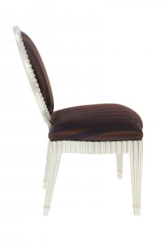 John Hutton Set of 4 Dining Game Chairs by John Hutton for Donghia - 156226