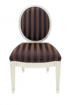 John Hutton Set of 4 Dining Game Chairs by John Hutton for Donghia - 156230