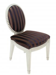 John Hutton Set of 4 Dining Game Chairs by John Hutton for Donghia - 156231