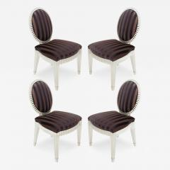 John Hutton Set of 4 Dining Game Chairs by John Hutton for Donghia - 156921