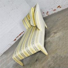 John Hutton Vintage donghia yellow stripe spirit chaise longue by john hutton - 1900269
