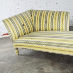 John Hutton Vintage donghia yellow stripe spirit chaise longue by john hutton - 1900285
