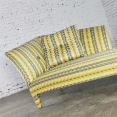 John Hutton Vintage donghia yellow stripe spirit chaise longue by john hutton - 1900288