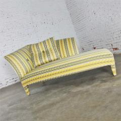 John Hutton Vintage donghia yellow stripe spirit chaise longue by john hutton - 1900289