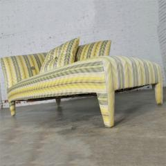 John Hutton Vintage donghia yellow stripe spirit chaise longue by john hutton - 1900308