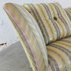 John Hutton Vintage donghia yellow stripe spirit sofa by john hutton - 1900267