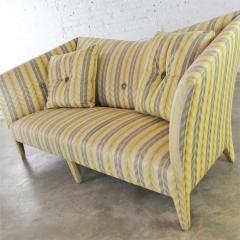 John Hutton Vintage donghia yellow stripe spirit sofa by john hutton - 1900275
