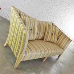 John Hutton Vintage donghia yellow stripe spirit sofa by john hutton - 1900280