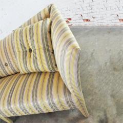 John Hutton Vintage donghia yellow stripe spirit sofa by john hutton - 1900286