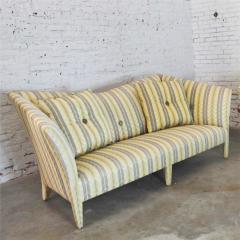 John Hutton Vintage donghia yellow stripe spirit sofa by john hutton - 1900311