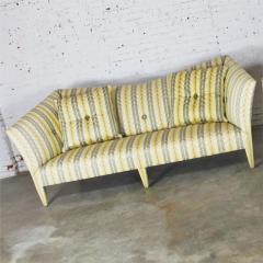 John Hutton Vintage donghia yellow stripe spirit sofa by john hutton - 1900316