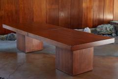 John Keal 1960s John Keal Expanding Walnut Coffee Table by Brown Saltman - 963484