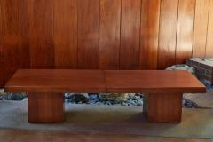 John Keal 1960s John Keal Expanding Walnut Coffee Table by Brown Saltman - 963486