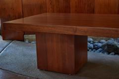 John Keal 1960s John Keal Expanding Walnut Coffee Table by Brown Saltman - 963490