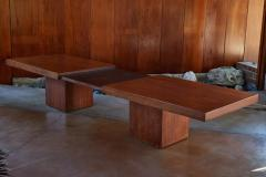 John Keal 1960s John Keal Expanding Walnut Coffee Table by Brown Saltman - 963491