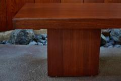 John Keal 1960s John Keal Expanding Walnut Coffee Table by Brown Saltman - 963492