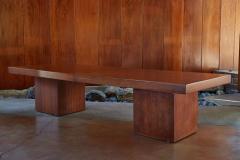 John Keal 1960s John Keal Expanding Walnut Coffee Table by Brown Saltman - 963493