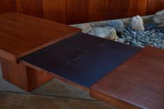 John Keal 1960s John Keal Expanding Walnut Coffee Table by Brown Saltman - 963494