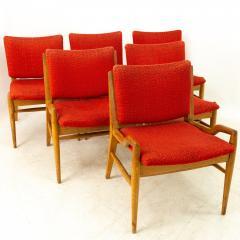 John Keal for Brown Saltman Mid Century Mahogany Dining Chairs Set of 6 - 1869708