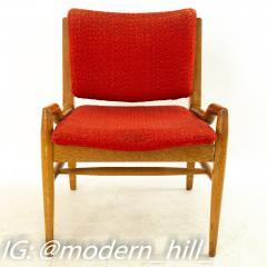 John Keal for Brown Saltman Mid Century Mahogany Dining Chairs Set of 6 - 1869713