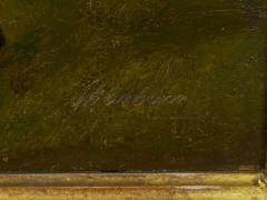 John Lewis Shonborn John Lewis Shonborn American 1852 1931 Equestrian Thoroughbred Oil Painting - 1066334