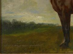 John Lewis Shonborn John Lewis Shonborn American 1852 1931 Equestrian Thoroughbred Oil Painting - 1066341