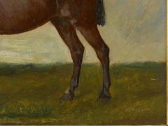 John Lewis Shonborn John Lewis Shonborn American 1852 1931 Equestrian Thoroughbred Oil Painting - 1066342