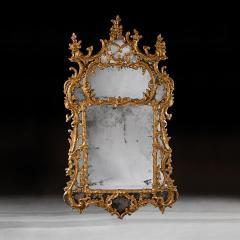 John Linnell EXCEPTIONAL MID 18TH CENTURY GEORGE II CARTON PIERRE GILT MIRROR - 1953814