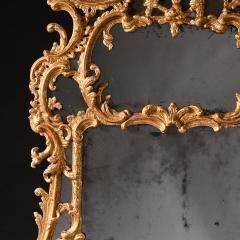 John Linnell EXCEPTIONAL MID 18TH CENTURY GEORGE II CARTON PIERRE GILT MIRROR - 1953837
