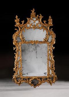 John Linnell EXCEPTIONAL MID 18TH CENTURY GEORGE II CARTON PIERRE GILT MIRROR - 1953840