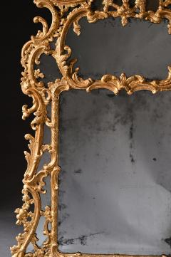 John Linnell EXCEPTIONAL MID 18TH CENTURY GEORGE II CARTON PIERRE GILT MIRROR - 1953845