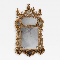 John Linnell EXCEPTIONAL MID 18TH CENTURY GEORGE II CARTON PIERRE GILT MIRROR - 1955271