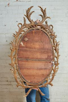 John Linnell Exceptional George III Oval Mirror - 1808970