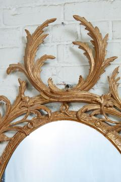 John Linnell Exceptional George III Oval Mirror - 1808974
