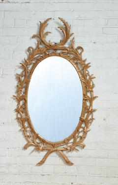 John Linnell Exceptional George III Oval Mirror - 1808978
