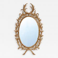 John Linnell Exceptional George III Oval Mirror - 1810303