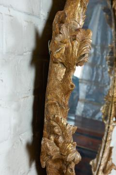 John Linnell Georgian Round Giltwood Mirror - 1915073