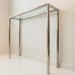 John Mascheroni Tubular Steel Console Table - 711611