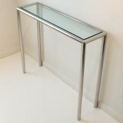 John Mascheroni Tubular Steel Console Table - 711613