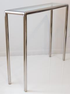 John Mascheroni Tubular Steel Console Table - 711617