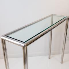 John Mascheroni Tubular Steel Console Table - 711618
