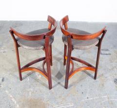 John Mortensen Pair of Danish Modern Bar Stools By John Mortensen - 1696285
