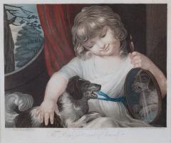 John Russel FOUR 19TH CENTURY STIPPLE ENGRAVINGS IN GILT FRAMES - 697264