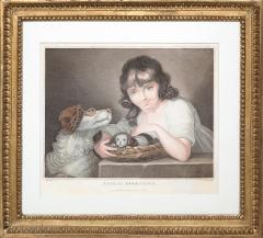 John Russel FOUR 19TH CENTURY STIPPLE ENGRAVINGS IN GILT FRAMES - 697266
