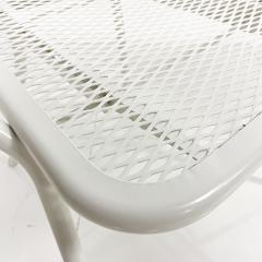 John Salterini Salterini Mid century Modern Patio Outdoor Dining Set Chairs and Dining Table - 1951290