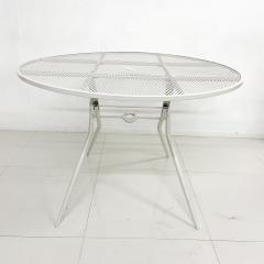 John Salterini Salterini Mid century Modern Patio Outdoor Dining Set Chairs and Dining Table - 1951291