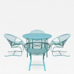 John Salterini Set of Four Radar Salterini Bouncer Chairs and Table Set - 1177407