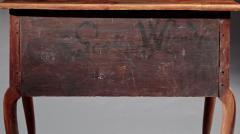 John Scottow Queen Anne Lowboy made by John Scottow - 334745