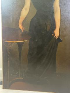 John Singer Sargent PORTRAIT OF MADAME X AFTER JOHN SINGER SARGENT BY ROBERT P WADDINGTON - 2023830