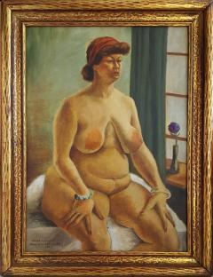John Steuart Curry Hilda Nellis Seated Nude Woman - 564201
